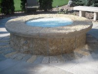 Natural Stone Fire Pit Design | Joy Studio Design Gallery ...
