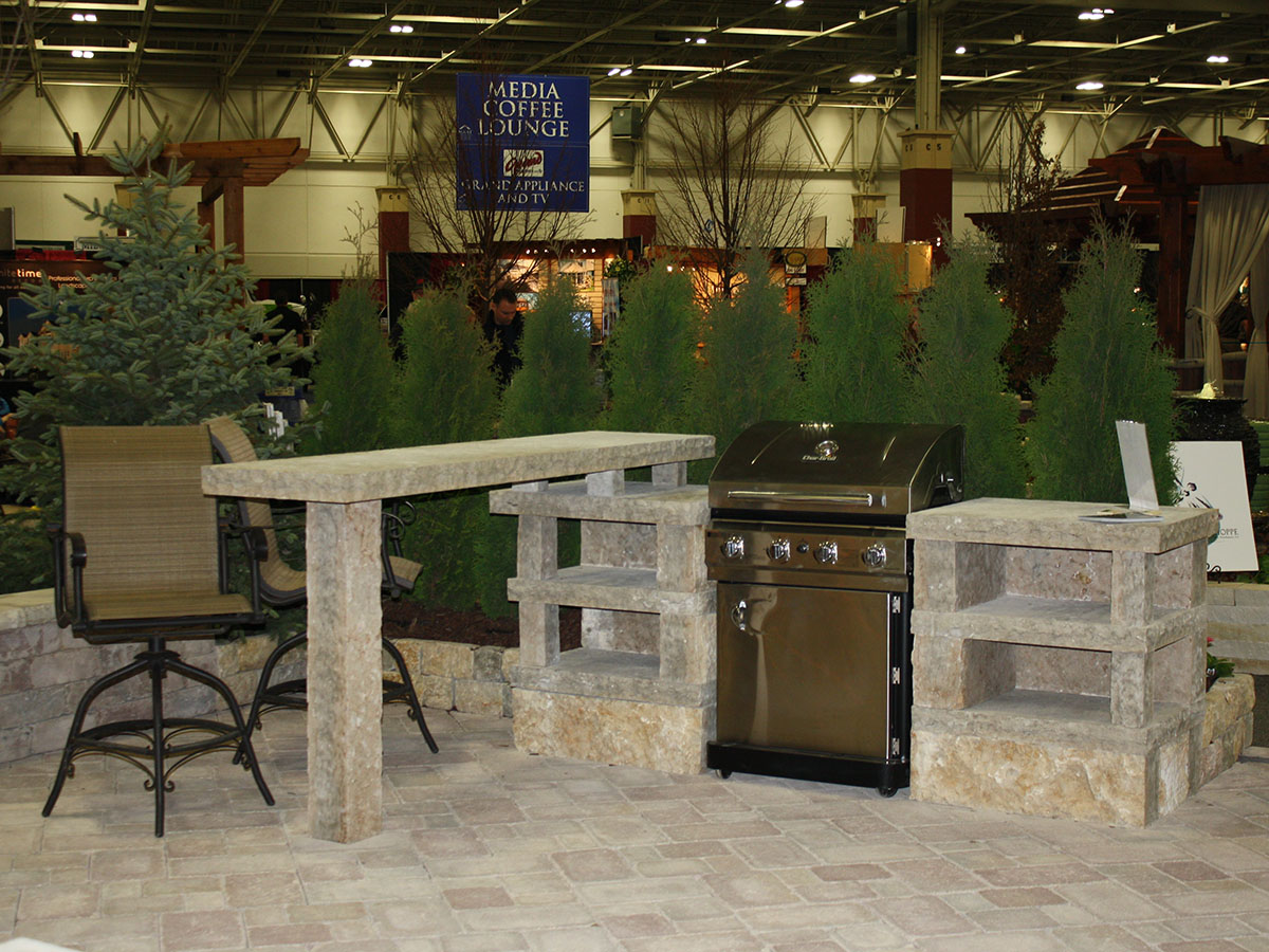 Outdoor Kitchens  Bars  Stone Additions  Lemke Stone