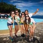 Miss Earth Beauties at the Lemlunay Pool