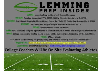 Lemming Prep Insider Last Chance Showcase