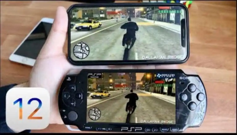 ppsspp emulator for psp games on iOS