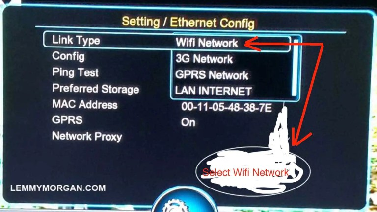 how to connect a decoder to the internet via WiFi