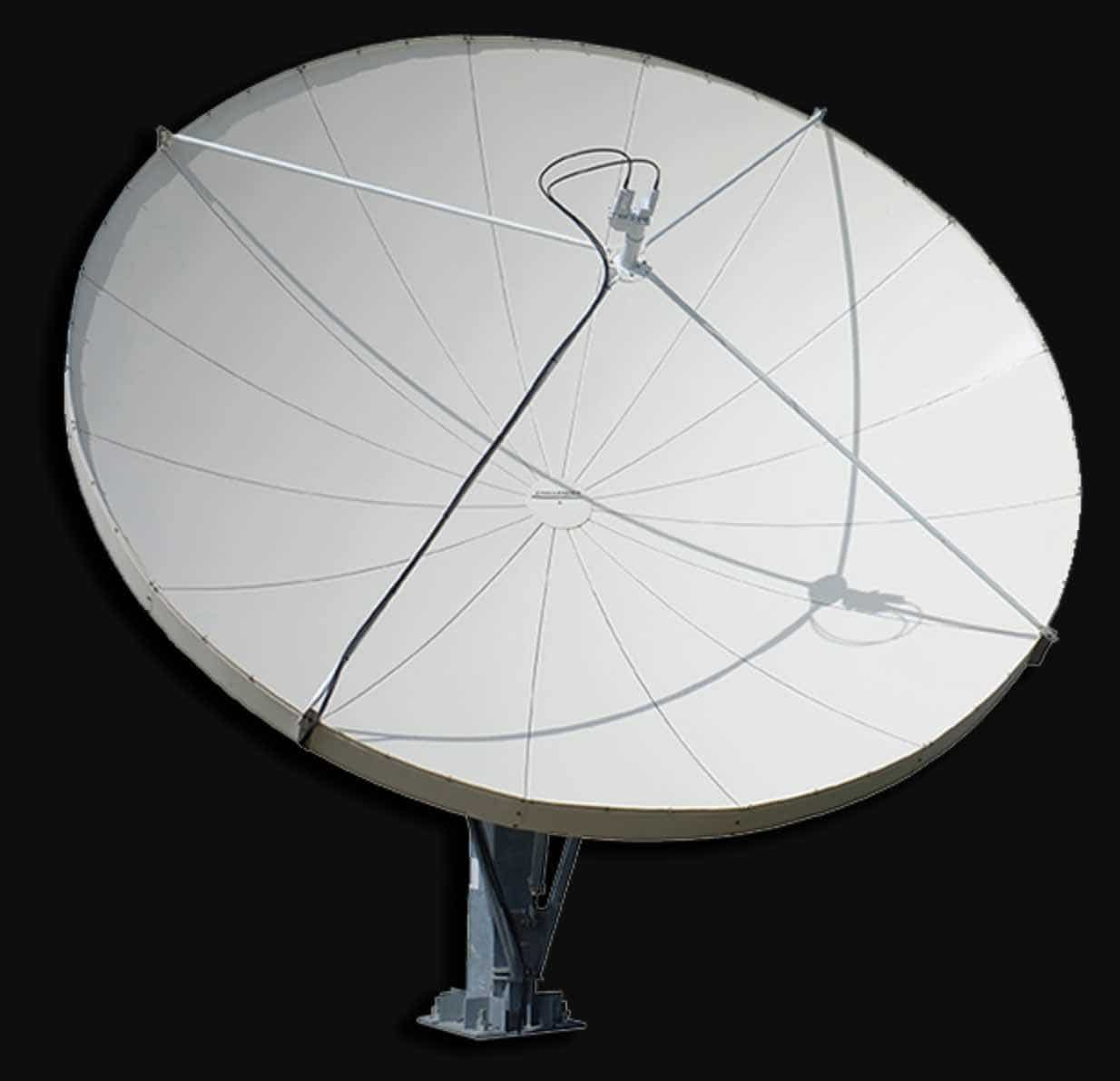 Pictures of Popular Satellite Dishes and LNBfs Used In