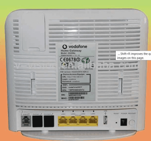 vodafone huawei HG556a 3G wifi router