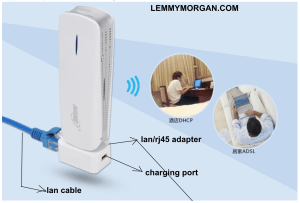 HAME_LAN_ADAPTER_AND CHARCHING PORT