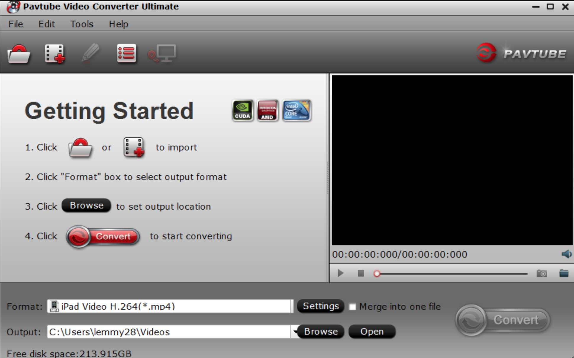 Convert and Play Recorded PVR  TS/ PS Video Files Easily