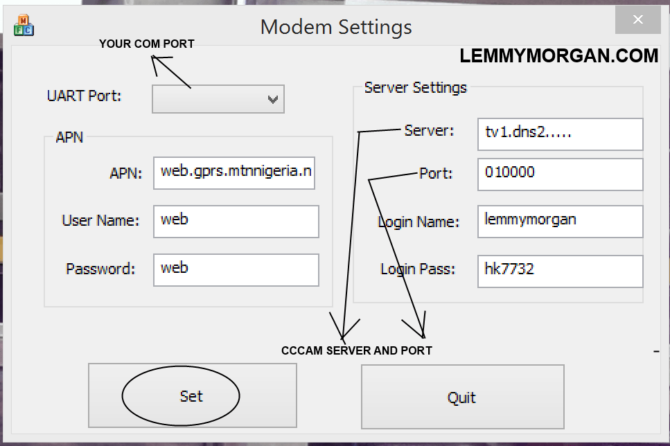 How To Load A Cccam Account Into Azsky Gprs Dongles