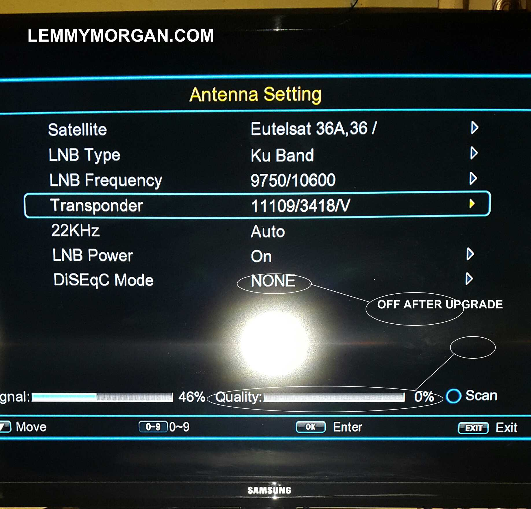 How To Setup A Diseqc Switch On Your Decoder