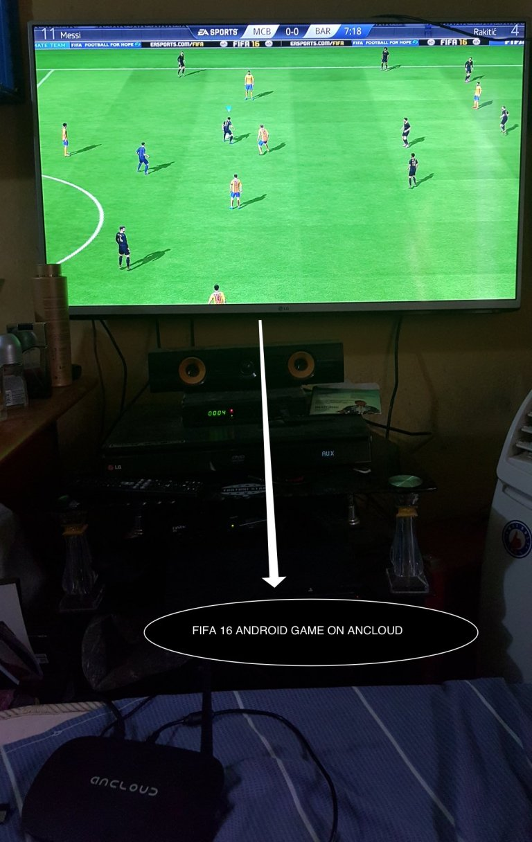 gamepad configuration with an Android box