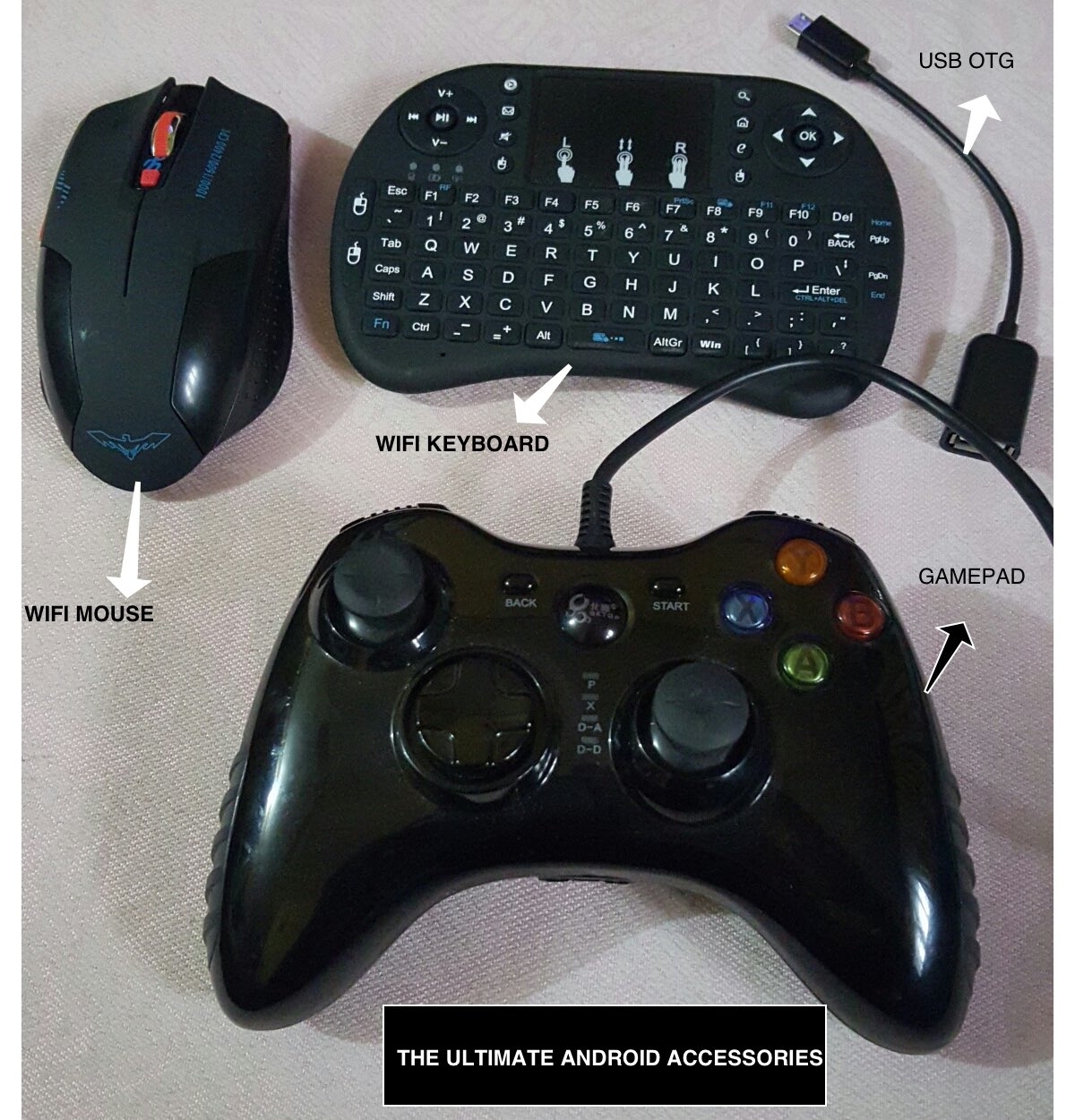 Computer Peripherals/Accessories Usable on Android IPTV Boxes and Phones