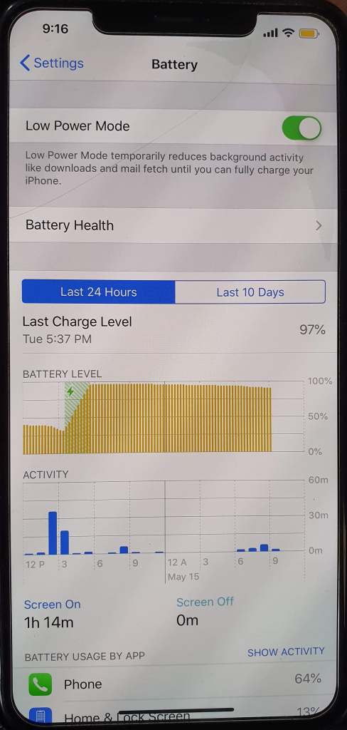 minimize mobile data with iPhone low power mode