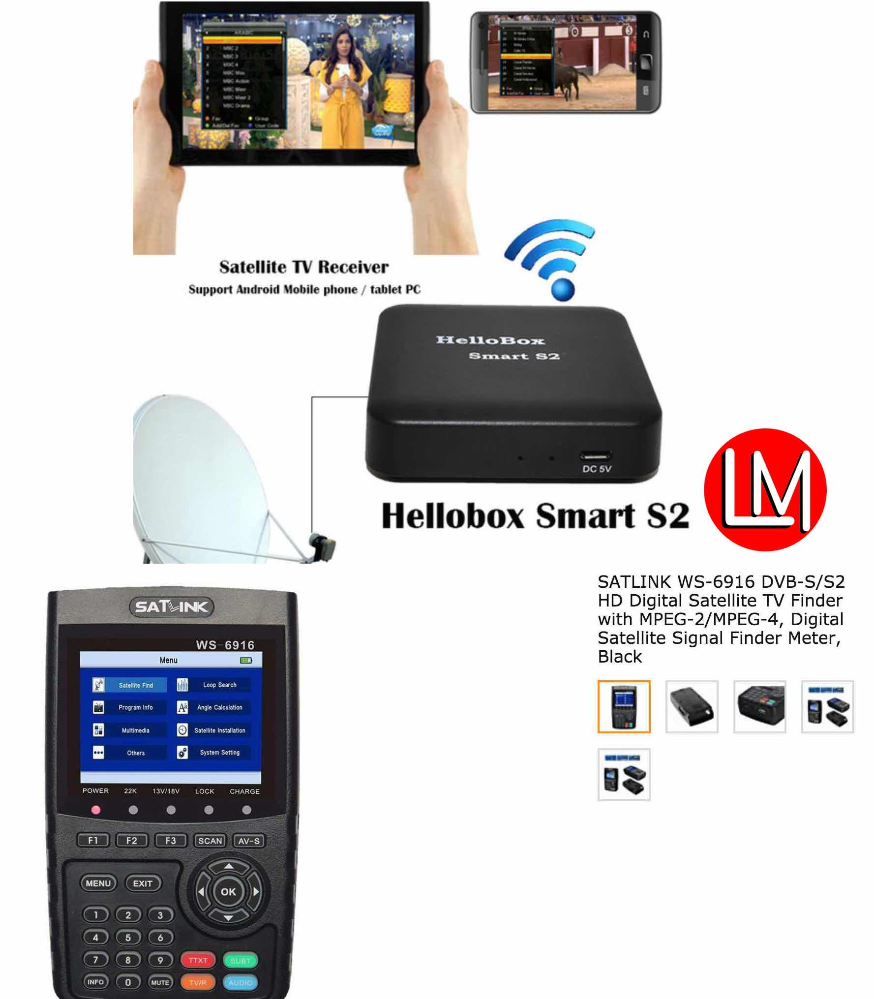 Why you Need a Digital SatFinder/Tracker/Meter to Track Your Satellite TV Channels