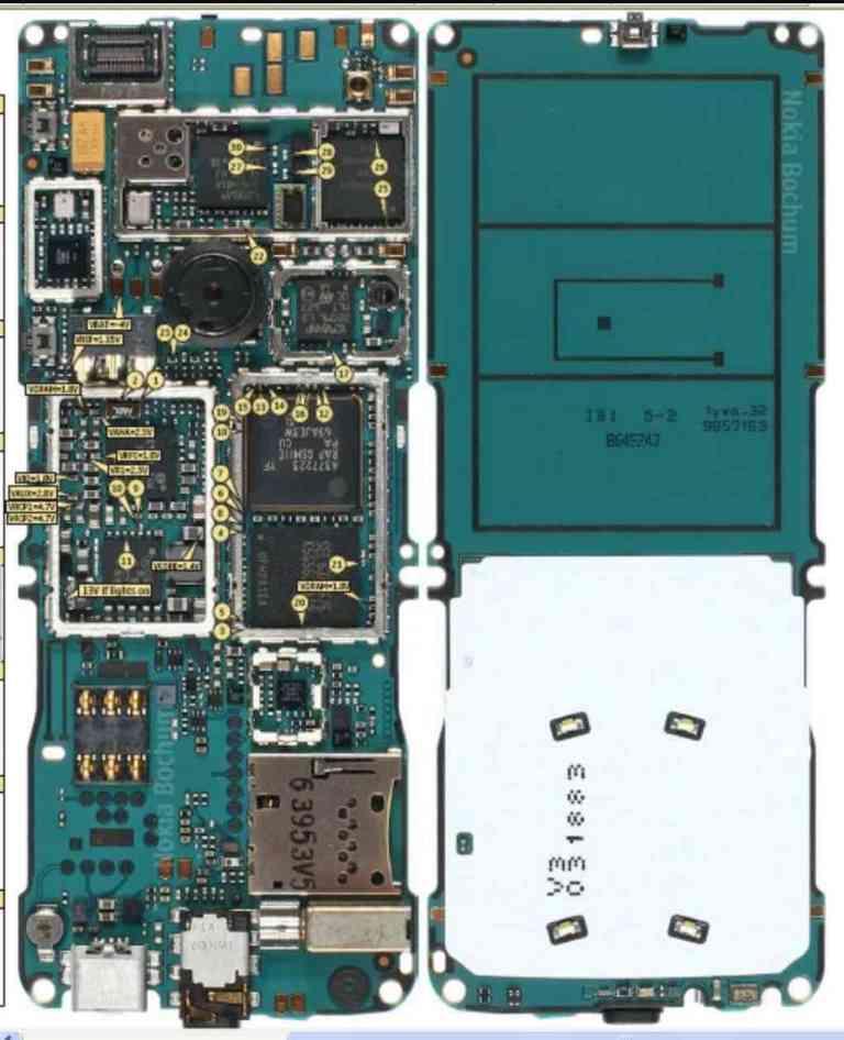 nokia phone PCB