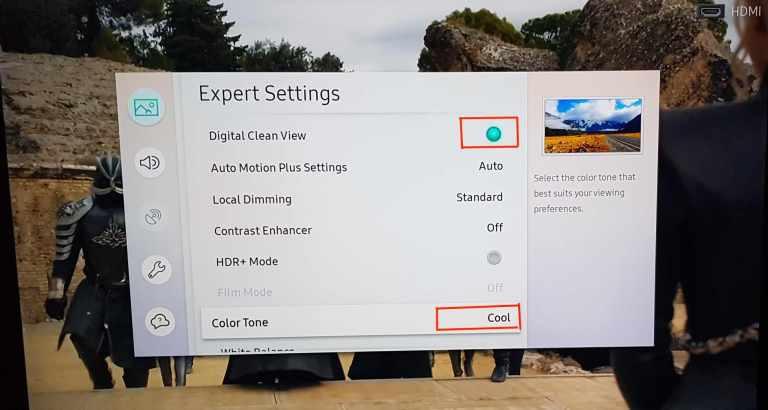 Expert picture settings samsung mu800df 4k TV