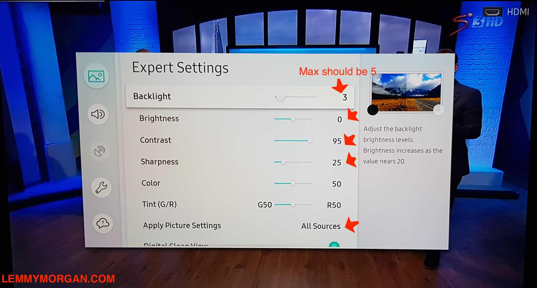 Best tv picture quality Settings for Your 4K Led/Oled/Qled