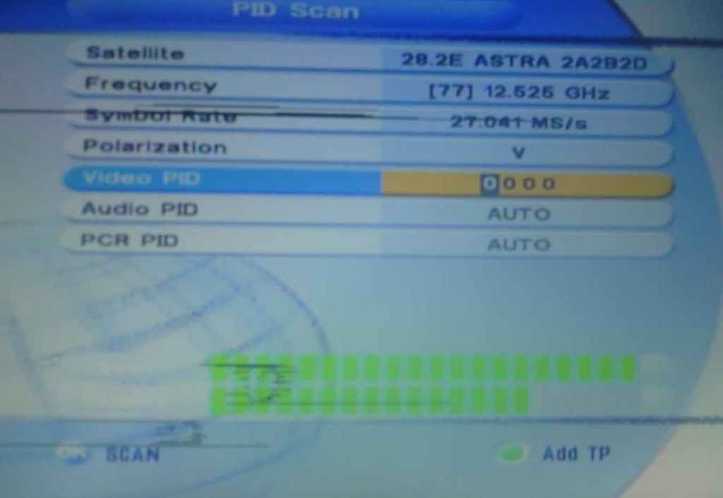 Search channels on FTA decoders