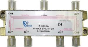 6 WAY SPLITTER
