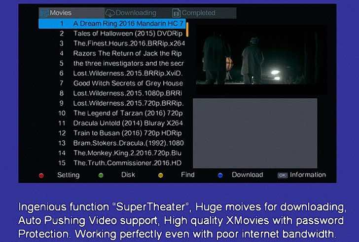Newest Gsky decoder V8 comes with multiple features and