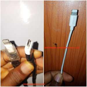 original iOS lightining cable vs anker and amazonbasics