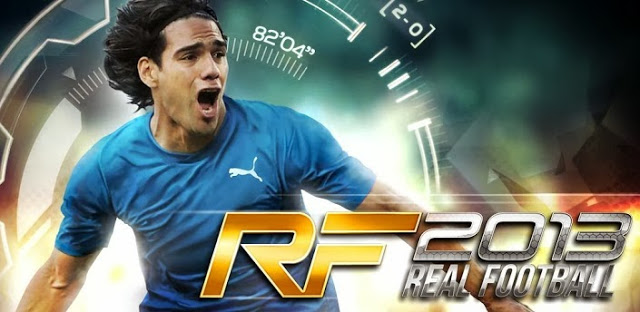real football 2013 apk and data