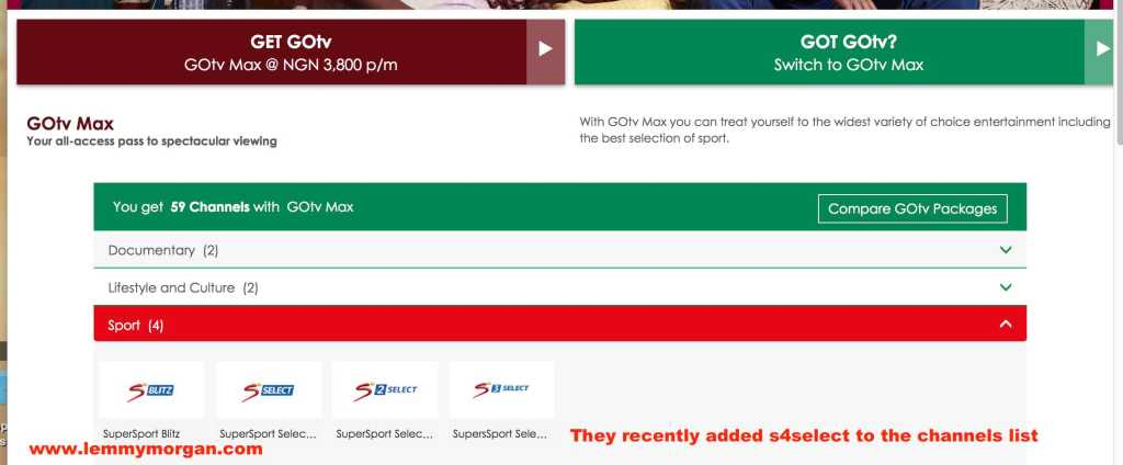 Introducing new GOtv Max subscription