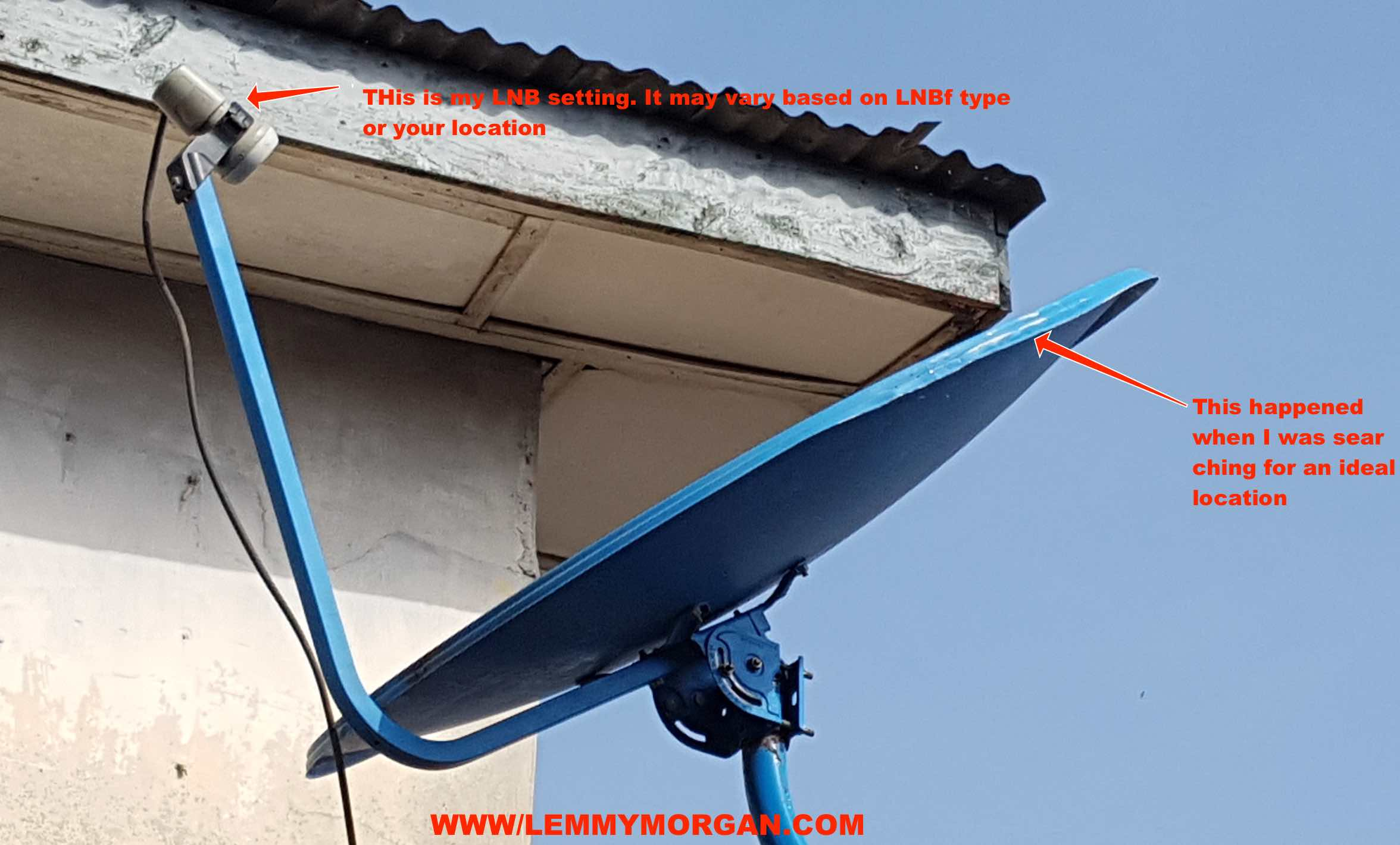[Tut]Tips to tracking TSTV Africa channels on a 90cm dish easily-Watch it with any FTA/Standalone decoders