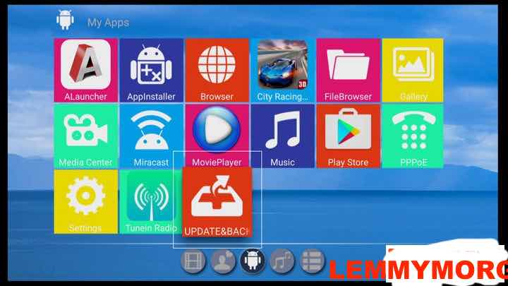 Upgrading Anmax Android box