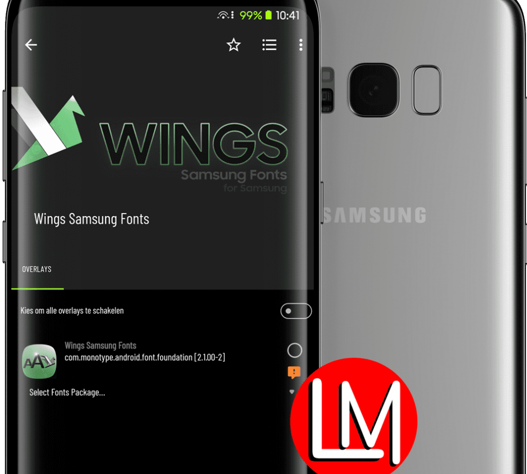 Wings Samsung Fonts installation & troubleshooting