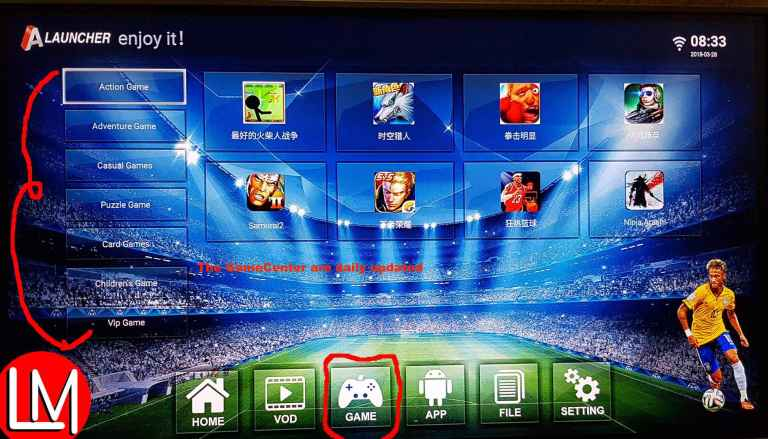 How to download from Anmax gamecenter