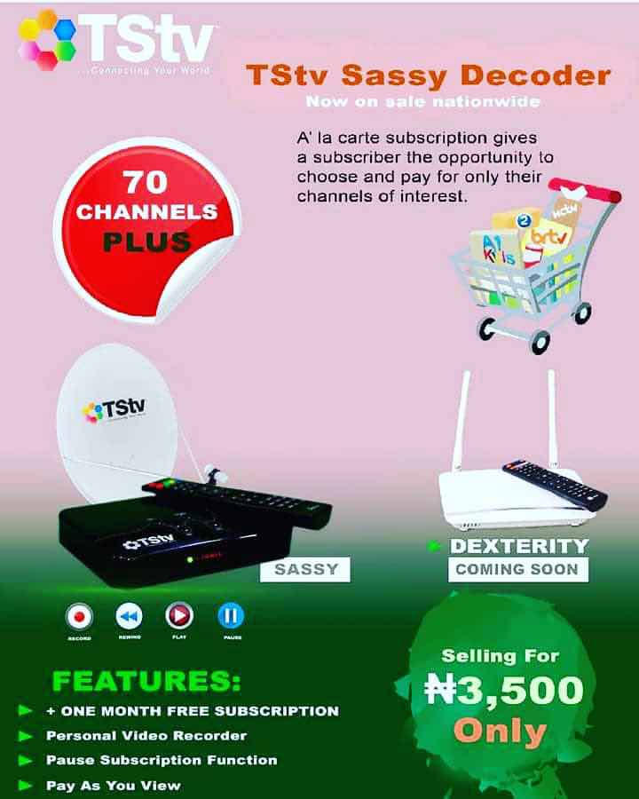 TStv sassy and dexterity decoder.