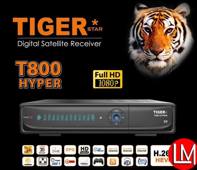 TIGERSTAR T800 Hyper Digital satellite receiver