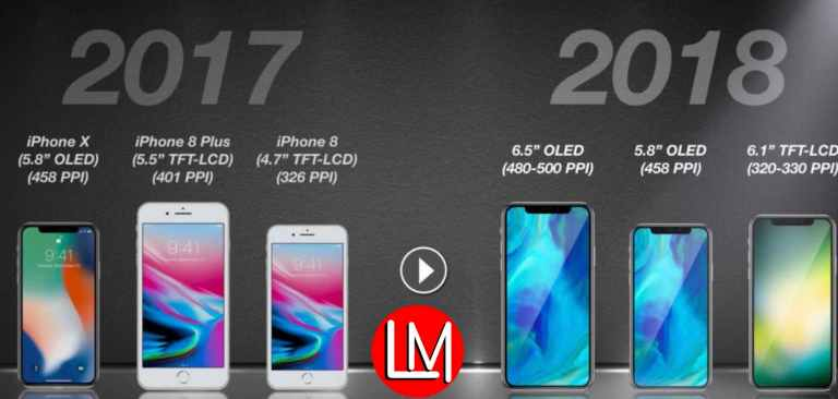 iPhone 2017 vs iPone 2018