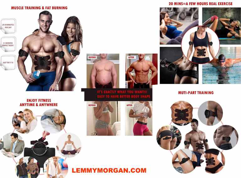 ABs stimulator for men and women