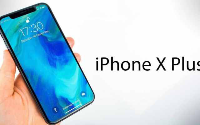 iPhone X Plus dual sim card