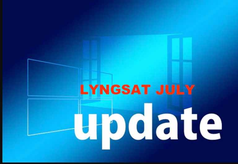 lyngsat transponder update July 30th