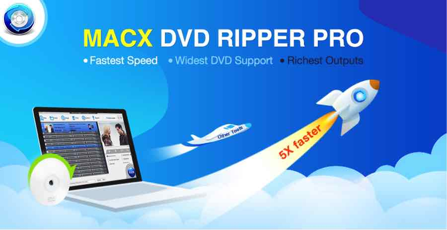MacX DVD Ripper Pro -Quickly convert yours DVD to MP4 format for iPhone and iPad[You can also win a free license]