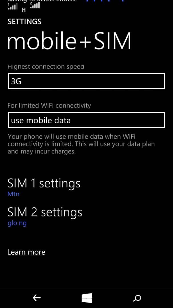 Manual Internet Profile Settings(APN setting) Phones