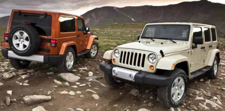jeep wrangler off-road features