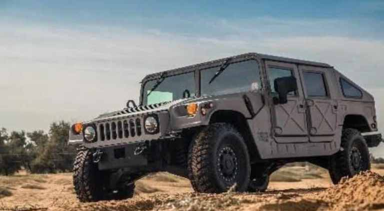 the Hummer H1 off-road SUV