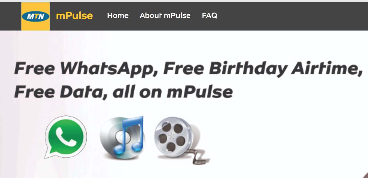 MTN mPulse special data bundle: how you can access all websites