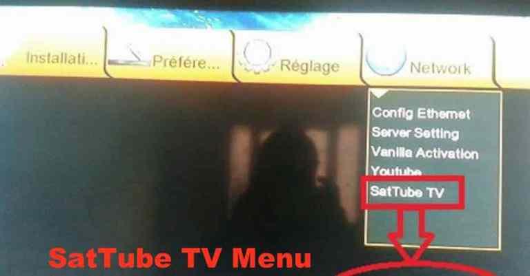 SatTube TV Menu