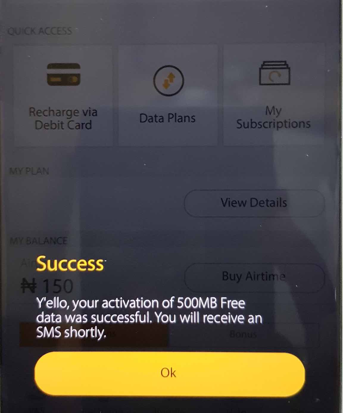 MyMTN App free data promo: Get 755MB absoltuley free and