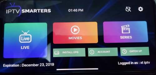 load .M3U IPTV URL manually on iOS devices