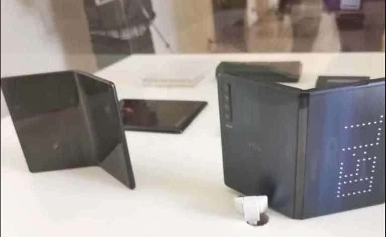 LG's Folding phone