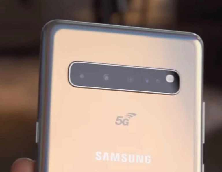 Samsung Galaxy S10+ 5G Version identifier