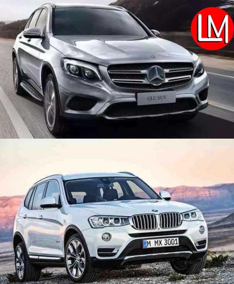 BMW-X3 vs Mercedes-Benz GLC L