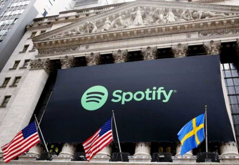 Spotify made it to the NY stock exchange in 2018