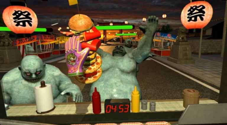 Dead Hungry psvr 20 minutes game