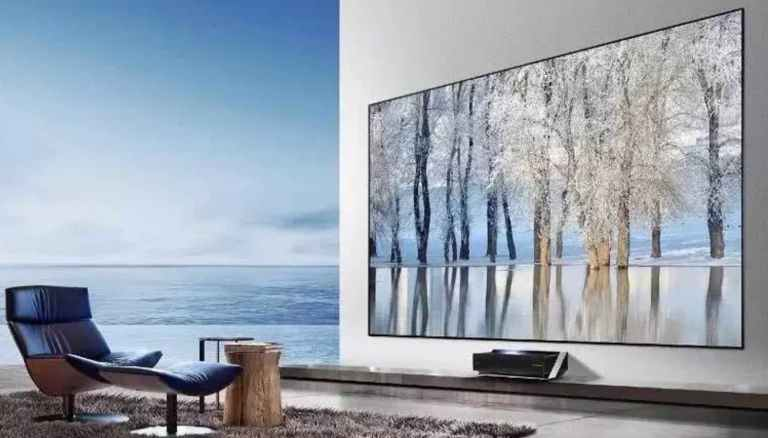 major comparative advantages of a laser tv