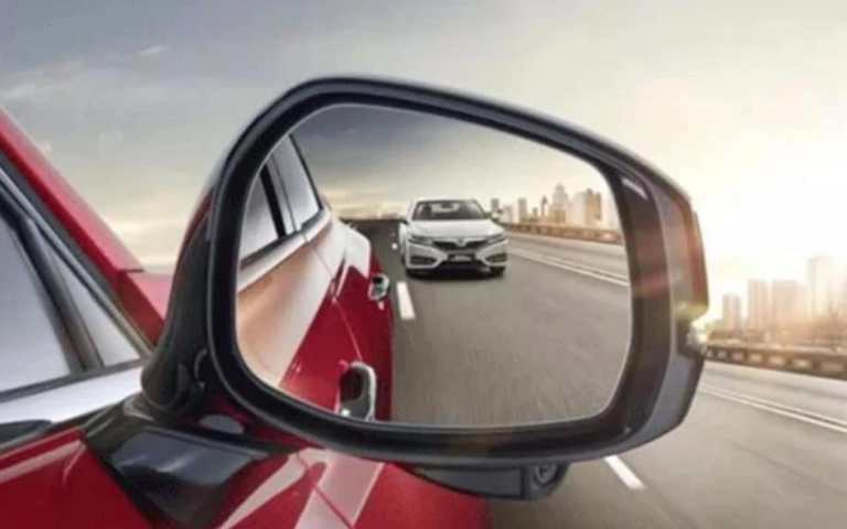The traditional side-view mirror